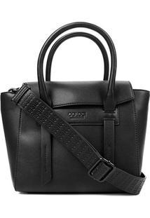 Bolsa Colcci Handbag Lisa Alca Larga Feminina - Feminino-Preto