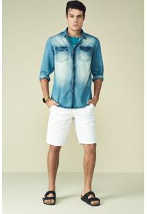 Camisa Slim Masculina