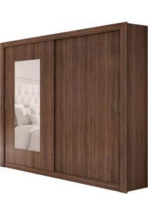 Guarda-Roupa Casal Com Espelho Apoena Plus 2 Pt 3 Gv Imbuia