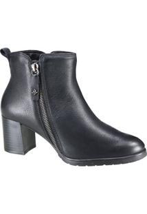 Bota Feminina Cravo E Canela Ankel Boot