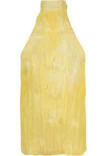 Ellery Blusa Frente Única - Amarelo