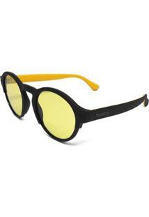 Óculos De Sol Havaianas Caraiva Feminino - Feminino-Preto