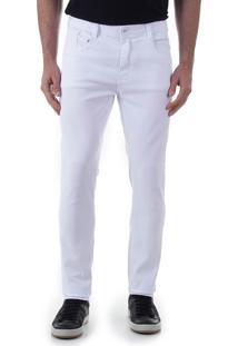 Calça Sarja Masculina Max Denim - Branco