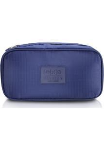 Bolsa Porta Lingerie Azul - Jacki Design