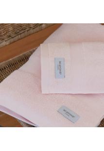 Toalha De Banho Baixa Torção 500 Gr. Rosa - Scavone
