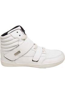Bota De Treino Sneakers Fitness Feminina Couro Premium Quickon Force Plus - Feminino