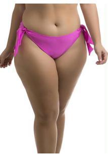 Calcinha Empina Bumbum Plus Size Rosa