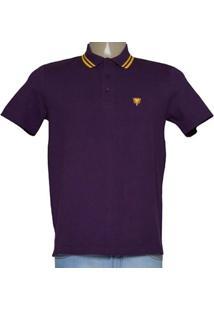 Camisa Masc Cavalera Clothing 03.01.0642 Roxo