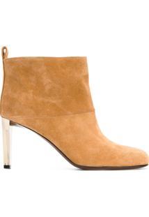 Golden Goose Deluxe Brand Ankle Boot De Camurça - Nude & Neutrals