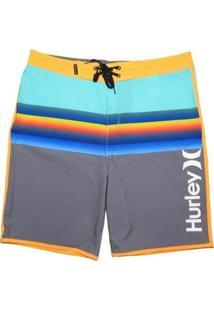 "Bermuda Água Hurley Phantom Chill 20"" - Masculino-Cinza"