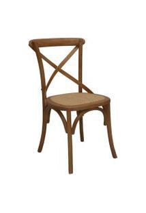 Cadeira Katrina Bétula Caramelo Rivatti Marrom