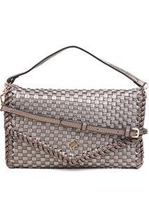 Bolsa Capodarte Mini Bag Soft Tressê - Feminino-Grafite