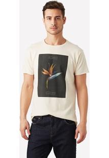 Camiseta Foxton Flora Tropical - Masculino
