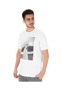 Camiseta Oakley Enjoing Life Masculino - Branco
