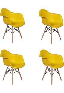 Cadeira E Banco De Jantar Império Brazil Charles Eames Wood Daw