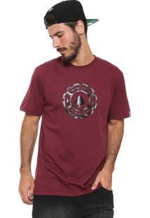 Camiseta Mcd Logo Vinho