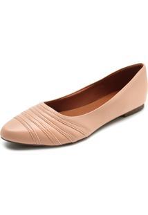 Sapatilha Dafiti Shoes Bico Fino Nude
