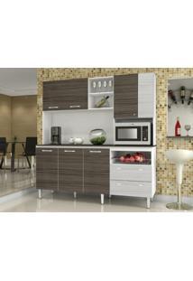 Cozinha Compacta Jade Com Tampo Dubai/Rovere - Kits Paraná