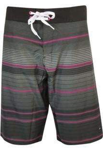 Boardshort Neon Striped Oakley - Masculino
