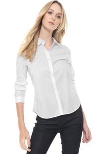 Camisa Lacoste Lisa Branca