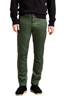 Calça Jeans Levis Chino Slim 511 - Masculino-Verde
