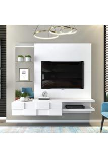 Painel Para Tv Até 55 Polegadas Star Siena Móveis Branco