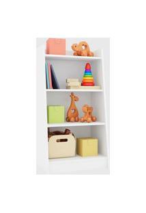 Estante Multiuso 4 Prateleiras Montessori Branco Art In Móveis