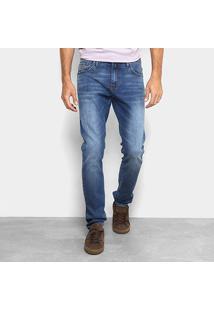 Calça Jeans Colcci John Masculina - Masculino-Azul