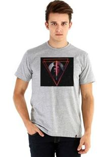 Camiseta Ouroboros Manga Curta Vader Masculina - Masculino-Cinza