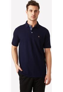 Camisa Polo Foxton Indigo Blue Masculina - Masculino