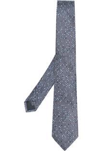 Lanvin Gravata Com Poás - Grey