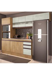 Cozinha Compacta Amália 10 Pt 2 Gv Nogueira E Gelo