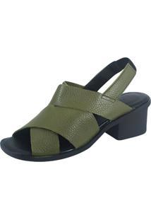 Sandália S2 Shoes Dani Verde Militar