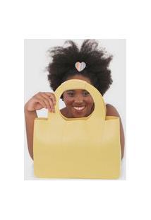 Bolsa Melissa Essential Tropicana Amarela