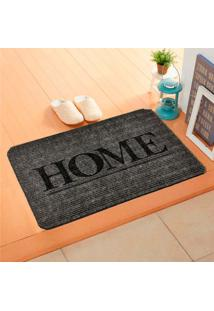 Capacho Carpet Home Cinza