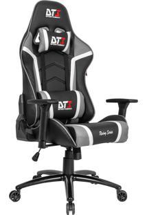Cadeira Gamer Dt3Sports 10326-2 Módena Reclinável Preta E Cinza