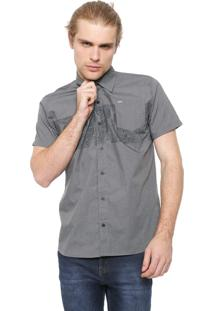 Camisa Hurley Reta Paradise Cinza