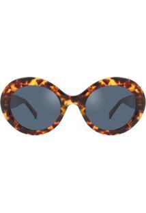Óculos De Sol Max Mara Prism Viii Feminino - Feminino-Marrom