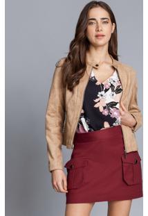 Blusa Estampada Decote V Lombard - Lez A Lez