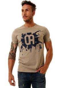 Camiseta Oitavo Ato Masculina - Masculino-Bege