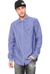 Camisa Dc Shoes Swalendalen Azul