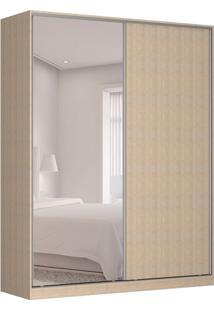 Guarda-Roupa Solteiro Com Espelho Tunas Ix 2 Pt 3 Gv Noce