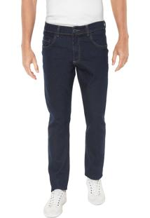 Calça Jeans Polo Wear Slim Lisa Azul