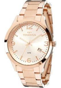 Relógio Technos Classic Analógico Feminino - Feminino-Rose Gold
