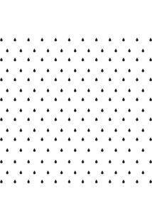 Adesivo De Parede Gotinhas Pretas Para Quarto 151Un Cobre 3M2 - Preto - Dafiti