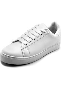 Tênis Fiveblu Liso Branco