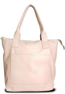 Bolsa Costtano Shopping Bag Feminina - Feminino-Nude