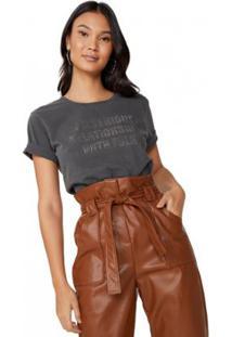 Camiseta Amaro In A Serious Relationship Feminina - Feminino