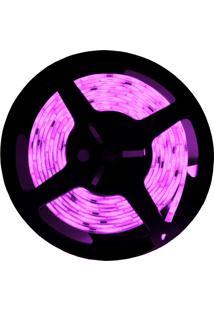 Fita Led Taschibra 5W 5M Bivolt Com Fonte Alimentação Violeta