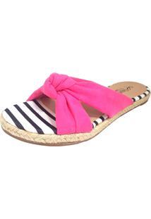 Chinelo Sapatilhas No Saquinho Em X Pink